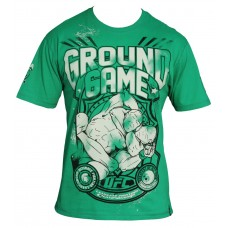 UFC GROUND GAME MAJICA KRATEK ROKAV - GROUND GAME TEE