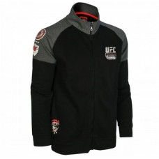 UFC FIGHT TEAM TRENIRKA ZGORNJI DEL DOLG ROKAV - FIGHT TEAM ZIP THROUGH
