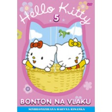 HELLO KITTY - BONTON NA VLAKU