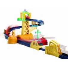 CHUGGINGTON - Training Yard Playset with Bridge
